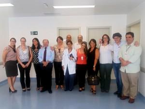 Diretoria da FUABC e gestores responsáveis pelo contrato São Mateus