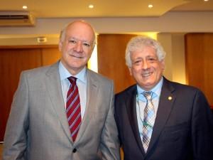 Doutores Bráulio Luna Filho e Antonio Carlos Palandri Chagas