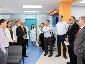Grupo visitou Ambulatório de Oncologia Pediátrica da FMABC e Casa Ronald ABC