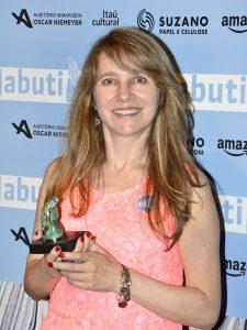 Dra. Judith Nogueira, vencedora do Prêmio Jabuti 2016